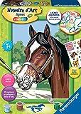 Ravensburger–28597–Nummer D 'Art mittel Pferde Beau PUR Blut arabischen