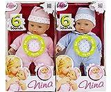 Sprechende Baby-Puppe Nina, Farblich sortiert