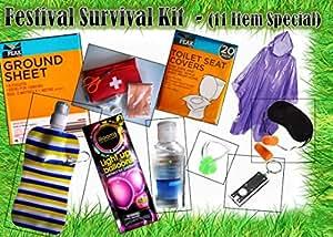 Festival Survival Kit [Nr. 11] (ideal für Glastonbury, Lesen, Herunterladen, v-fest... etc.)