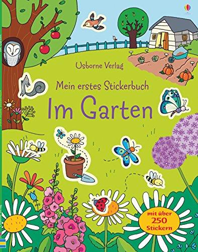 Mein erstes Stickerbuch: Im Garten -