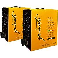2 CONFEZIONI - Olio Extravergine di Oliva - EVO - Spineto - Terre Di Lidia - BiB - Bag in Box 3 Litri - 100% Prodotto…