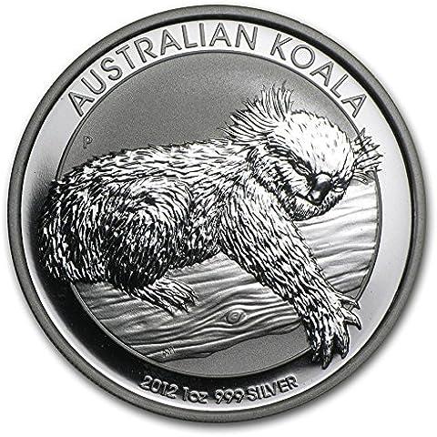 'AUSTRALIA/Australia 1onza 1Dólar Conmemorativa Koala oso 2012–milésimas–1onza Fein Plata Sistema de plata Moneda moneda–Conservación: bankfrisch de