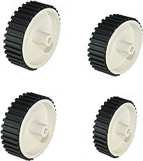 Robokart White small tyre for Robowar(pack of 4)