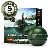 Deeper Chirp Plus kastbar och bärbar fiskfinnare för karp båt kajak isfiske trådlös GPS Fishfinder smart ekolod djup sökare