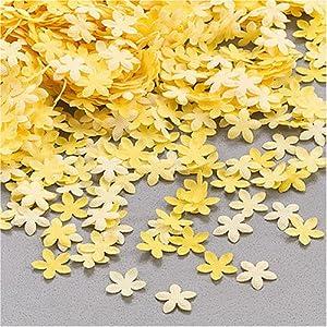 Gütermann / KnorrPrandell 6514790 - 0,8 cm Flores Amarillas dispersas, 9 g / Bolsa Importado de Alemania