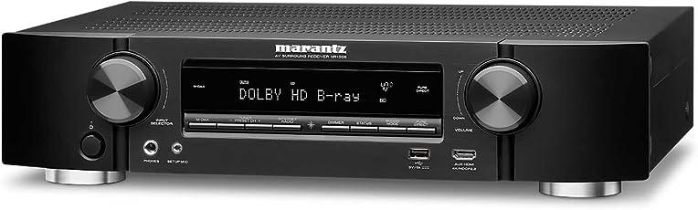 Marantz NR1508 5.2 Kanal 4K Netzwerk A/V-Receiver und HEOS Integration schwarz
