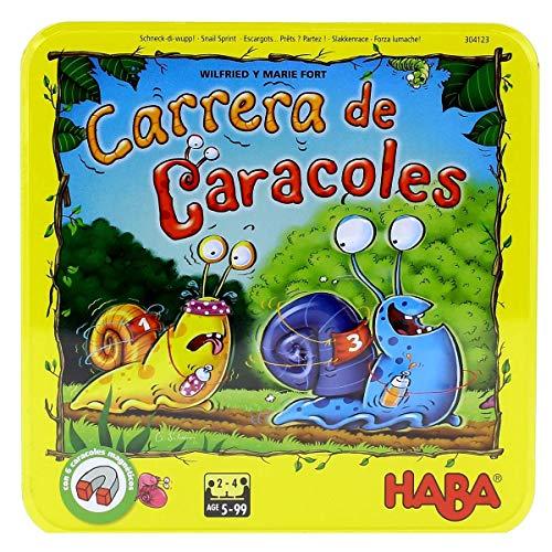 HABA- Juego Mesa, ¡Carrera Caracoles Habermass H304123