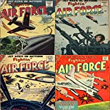 Fightin Air Force. Issues 3, 4, 5 and 8. Jet aces in action. Includes grounded eagles plus other stories of blazing action in the sky. Golden Age Digital ... Military and War (English Edition)