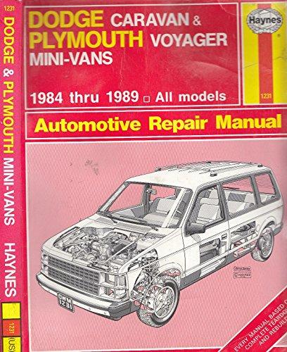 dodge-caravan-and-plymouth-voyager-mini-vans-1984-89-owners-workshop-manual