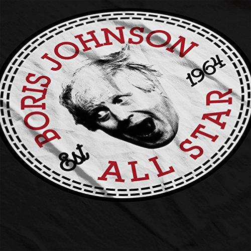 Boris Johnson All Star Converse Logo Women's T-Shirt Black