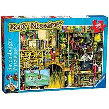 Ravensburger The Loopy Laboratory Puzzle (XXL, 200 Piece)