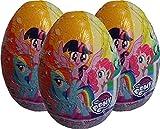 My Little Pony Schokolade Überraschungs-Ei (3 geliefert)