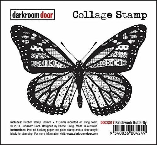 darkroom-door-kit-de-patchwork-papillon-monte-sur-mousse-plastique-en-caoutchouc-tampon-collage-ddcs