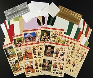 Reddy kit pour confectionner des cartes de vœux 3D motif m. j. hummel