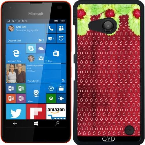 Custodia per Microsoft Lumia 550 - Amore Fragola by