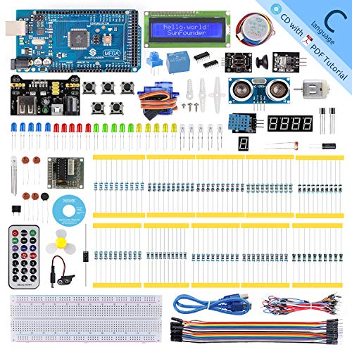SUNFOUNDER New Mega Project Super Kit with Tutorial For Arduino UNO R3