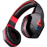 boAt Rockerz 510 Wireless Bluetooth On Ear Headphones with Mic (Raging Red)