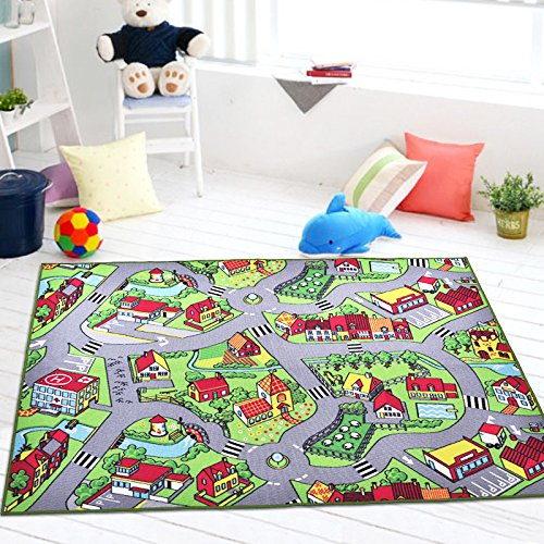 zxdg-kids-game-lane-childrens-rugs-girls-fun-rugs-green-town-tappetini-antiscivolo-tappeti-per-camer