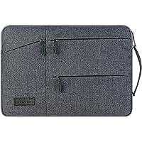 11,6MacBook móvil, casquillos de elecfan® Resistente de agua portátil Bolsa protectora para 11–11,6pulgadas Macbook Air, Netbook Tablette con un pequeño caso., gris, 15-15,4 Zoll