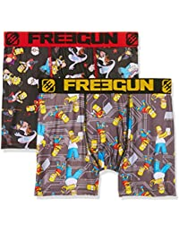 Freegun Simpson Packx2, Boxer Homme