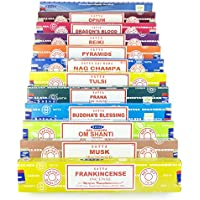 Satya Nag Champa Om Shanti Räucherset G 12x15gram beinhaltet: Nag Champa, Om Shanti, Samyak, Reiki, Frankincense... preisvergleich bei billige-tabletten.eu
