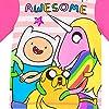 Adventure-Time-Pigiama-a-maniche-lunghe-per-ragazze-Adventure-Time