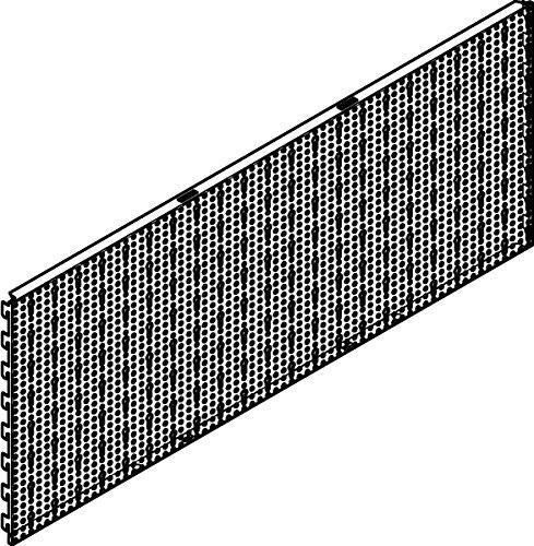 Tegometall Sl-Wand 1250 X 400 Juraweiss