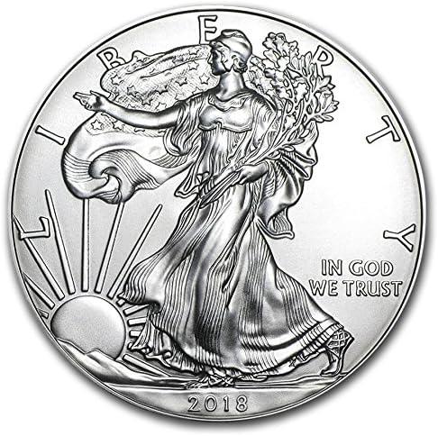 Royaume-Uni pièce de monnaie Company 2018 Argent American Eagle Liberty 28,3 gram Argent Fin pièce de monnaie | Matériaux De Grande Qualité