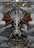 Heroische Gitarren (Wandkalender 2018 DIN A4 hoch): Bilder der verzauberten Welt von Bluesax. (Monatskalender, 14 Seiten ) (CALVENDO Kunst) [Kalender] [Apr 04, 2017] Bluesax, k.A.