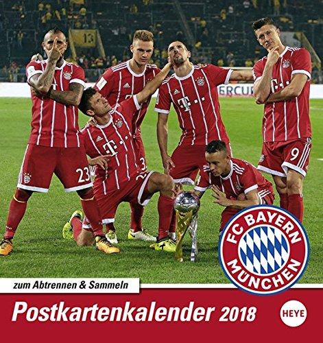 FC Bayern München Sammelkartenkalender - Kalender 2018