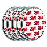 ECENCE 5X Magnetbefestigung/Magnethalter für Rauchmelder Ø 70mm 45020108005