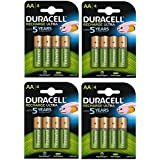 Duracell Duralock Akku PreCharged (AA, HR6, 1,2 Volt, 2500mAH) 16 Stück
