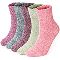 Winter Women socks UK 4-10 Christmas Wool Thermal Warm Knitting Ladies Socks
