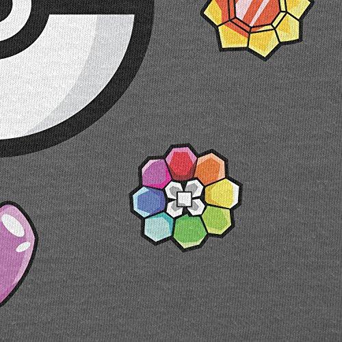Texlab–Poke Gems–sacchetto di stoffa Grau