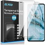ELYCO Verre Trempé pour OnePlus Nord, [2 Pièces] 9H Dureté sans Bulles Protection D'écran, Anti-Huile/Anti-Chute/Anti…