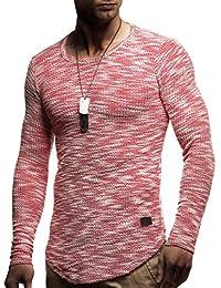 LEIF NELSON Herren Sweatshirt Hoodie Hoody T-Shirt LN6358