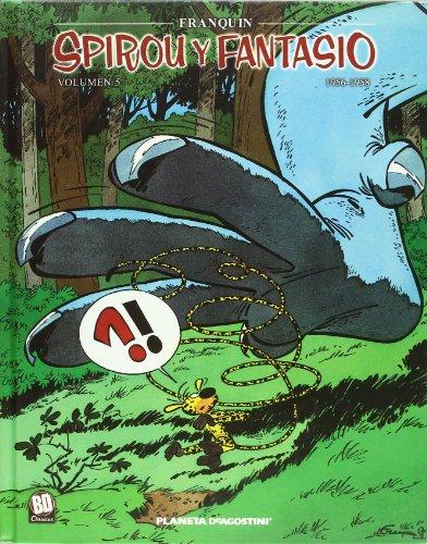 Spirou y Fantasio 1958-1960 nº 05/07 (Cómics BD 2 NO) por Franquin