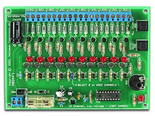 VELLEMAN - VM120 Minikits 12V DC 10-channel Licht Effekt Generator 840370 -