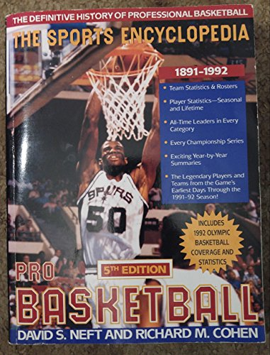 The Sports Encyclopedia, Pro Basketball
