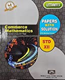 Uttam 12th Commerce Mathematics Papers with Solution