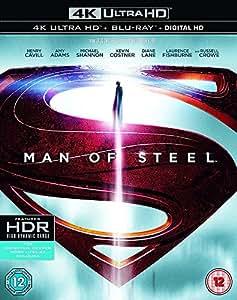 Man of Steel [Includes Digital Download] (4K Ultra HD Blu-ray)