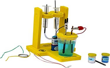 Butterflyfields Science And Math Project Chemical Effects Of Electric Current - Science Project Kit