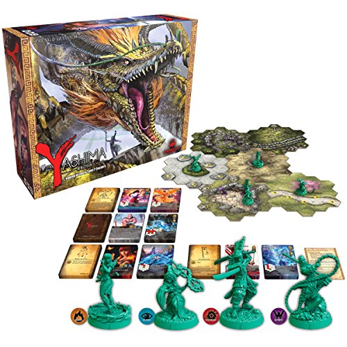 Greenbrier Games GRB00033 Yashima: Legends of the Kami Masters (Core Game), Brettspiel