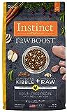 Instinct Raw Boost Getreide Free Rezept Natural Trockenfutter für Hunde von der Natur Vielzahl