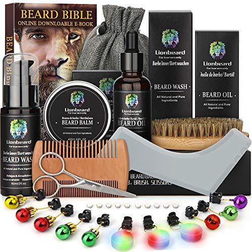 Kit Barba Cuidado para Hombre Crecimiento