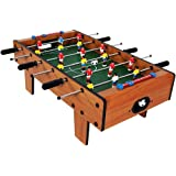 TUMTUM Mid Size Lightweight Table Top Version Foosball / Football Game, Mini Football, Table Soccer (69X37X24cm) for…