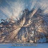 """Meteorologischer Postkarten-Kalender 2018: 12 farbige Postkarten mit Motiven zum Thema """"Wetter und Meer"""" (Postcard Calendar Weather and Oceans) -"""