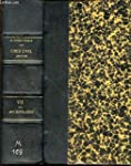 CODE CIVIL ANNOTE - TOME 7 : ARTICLES...