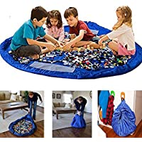 Gr8 Home Large 150cm Tidy Bag Play Mat Rug Portable Kids Toys Organizer Storage Case Pouch Drawstring Organiser preiswert