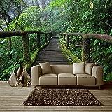 BIZHIGE Lanscape Landschaft Wald 3D Wand Fototapeten Für Wohnzimmer und Bettwäsche Raum 3D Wandmalereien Fresko Wohnkultur 180 × 120 cm